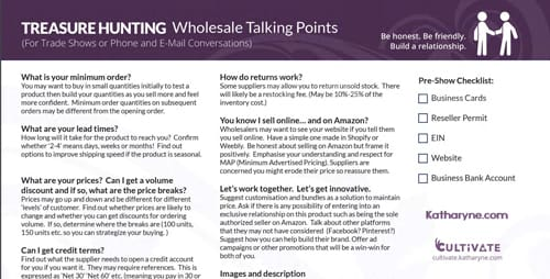 Wholesale Talking Points Preview